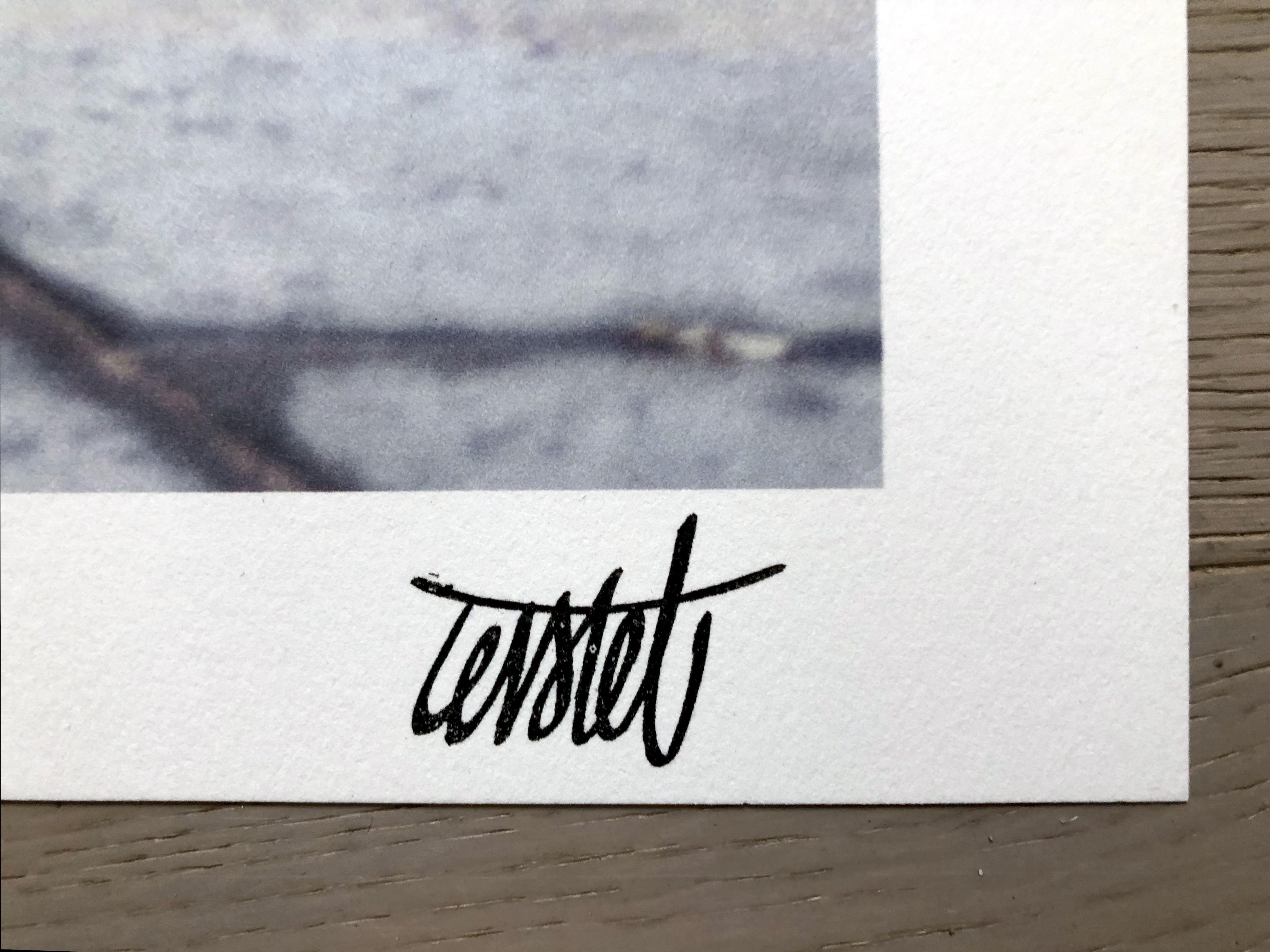 Signature au tampon de Levalet