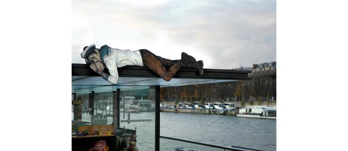 New installation by Levalet in Paris