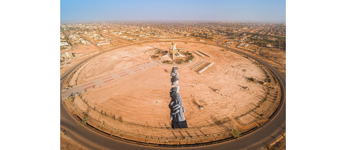 Saype : Sa nouvelle intervention au Burkina Faso !