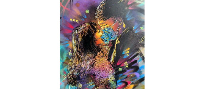 C215 celebrates love despite the Covid-19 crisis